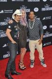 Brad Paisley & Kesha & Ludacris Stock Photo