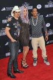 Brad Paisley & Kesha & Ludacris Royalty Free Stock Image