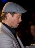 Brad Pitt. At the european premiere of 'Beowulf' at the Vue cinema on November 11, 2007, London, England Royalty Free Stock Photography