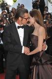 ANGELINA JOLIE, Angelina Jolie, Brad Pitt Royaltyfri Fotografi