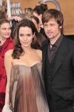 Brad Pitt, Angelina Jolie fotos de stock