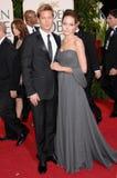 Brad Pitt, Angelina Jolie Royalty Free Stock Photo