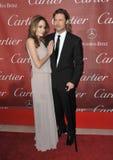 Brad Pitt, Angelina Jolie Στοκ φωτογραφίες με δικαίωμα ελεύθερης χρήσης