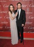 Brad Pitt, Angelina Jolie Στοκ Εικόνες
