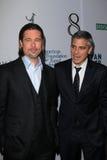 Brad Pitt, George Clooney Royalty Free Stock Photography