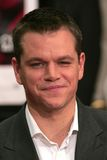 Matt Damon Stock Photo
