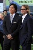 Brad Pitt, Hideki Matsui Stock Photos