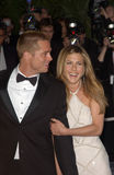 Brad Pitt,Jennifer Aniston Royalty Free Stock Photography