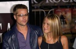 Brad Pitt, Jennifer Aniston Στοκ φωτογραφίες με δικαίωμα ελεύθερης χρήσης