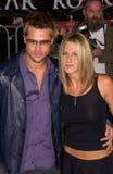 Brad Pitt,Jennifer Aniston Royalty Free Stock Photography