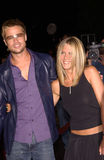 Brad Pitt,Jennifer Aniston Royalty Free Stock Photo