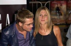 Brad Pitt,Jennifer Aniston Stock Photography
