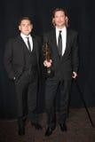 Brad Pitt, Jonah Hill Royalty Free Stock Photos