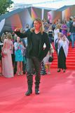Brad Pitt at Moscow Film Festival Stock Image