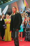 Brad Pitt at Moscow Film Festival Stock Photo