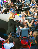 Brad Pitt at Moscow Film Festival Royalty Free Stock Image