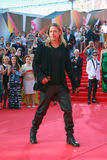 Brad Pitt at Moscow Film Festival Royalty Free Stock Images