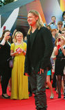 Brad Pitt am Moskau-Film-Festival Lizenzfreie Stockfotografie