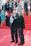 Brad Pitt and Nikita Mikhalkov applause Stock Photo