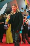 Brad Pitt no festival de cinema de Moscou Foto de Stock