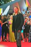 Brad Pitt no festival de cinema de Moscovo Fotos de Stock