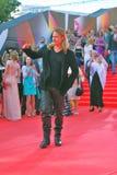 Brad Pitt no festival de cinema de Moscovo Imagem de Stock