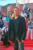 Brad Pitt no festival de cinema de Moscovo Imagens de Stock Royalty Free