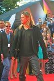 Brad Pitt no festival de cinema de Moscovo Foto de Stock Royalty Free