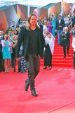 Brad Pitt no festival de cinema de Moscovo Imagens de Stock