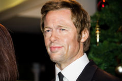 Brad Pitt Wax Figure stockbild