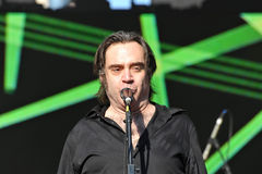Brad Roberts of The Crash Test Dummies Royalty Free Stock Photos