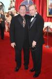 Brad Vogel, John Lasseter Royalty-vrije Stock Foto's