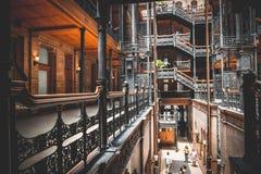 Bradbury Building fotografie stock libere da diritti