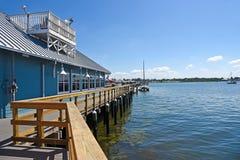Bradenton海滩码头 免版税库存照片