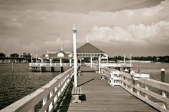 Bradenton Beach Historic Pier Stock Photos