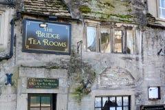 Bradford on Avon coffee shop Stock Photo