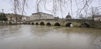 Bradford on Avon Road Bridge Royalty Free Stock Photos