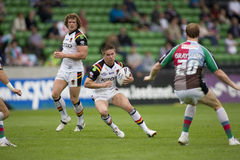 bradford byków arlekinów liga rugby v Obrazy Stock