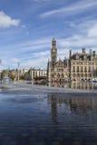 Bradford Centenary Square Royalty-vrije Stock Afbeelding