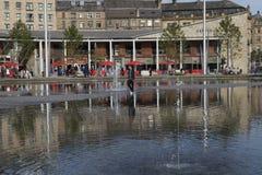 Bradford Centenary Square Royalty-vrije Stock Fotografie