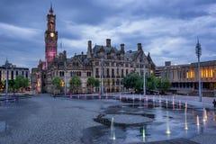 Bradford City Hall Lizenzfreies Stockbild