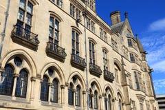 Bradford City Hall fotografia de stock royalty free