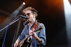 Bradford Cox, lead singer and guitarist of Atlas Sound band Stock Photo