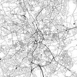 Bradford Downtown Vector Map vector illustratie