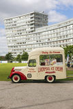 Bradford ice cream van Royalty Free Stock Photo