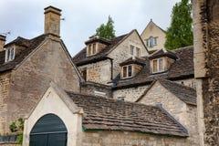Bradford-på-Avon arkitektur Wiltshire sydvästliga England UK arkivbild