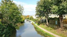 Bradford su Avon è una città e una parrocchia civile nel Wiltshire ad ovest, Inghilterra Immagini Stock