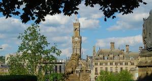 Free Bradford Town Hall Royalty Free Stock Photography - 161002117
