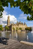 Bradford Town Hall England UK Stock Images