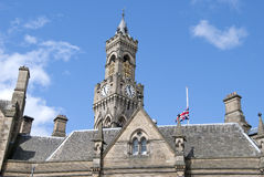 Bradford Town Hall3 Royalty Free Stock Images